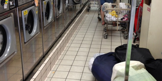 Laundromat Thankfulness