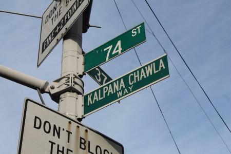Kalpana Chawla New York City