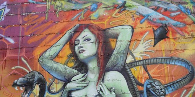 Street Art in Montreal Canada