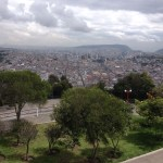 Overlooking Quito Ecuador