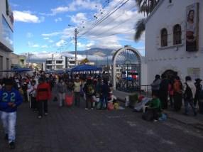 Otavalo Market Plaza