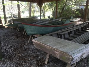 cajun skiff in Louisiana
