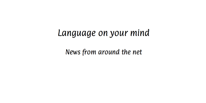In case you missed it – language and localization news Issue: Issue 1