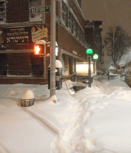 Bedford nostrand snow g train