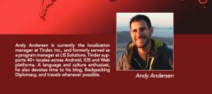 Andy Andersen localization