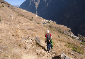 backpacking in yunnan china