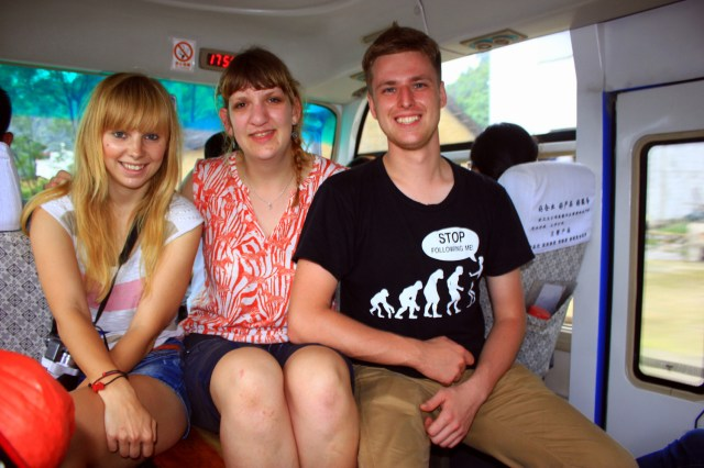 Agness, Sarah and Cez