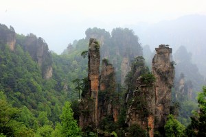 Backpacking in China: The Floating Hallelujah Mountains in Hunan