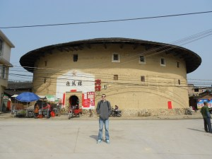 Backpacking in Fujian Province - the village of Yun Shui Yao.