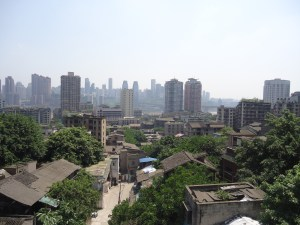 Backpacking in Chongqing - it's a monster!!
