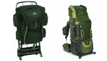 external frame backpacks vs internal frame backpacks - External Frame Hiking Backpack