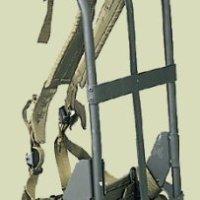 A.L.I.C.E. BackPack Frame, shoulder straps, lower back pad & waistbelt