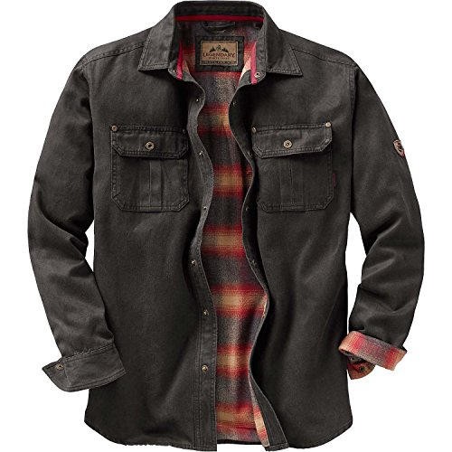 7e4e62c92 Legendary Whitetails Mens Journeyman Shirt Jacket Tarmac X-Large ...