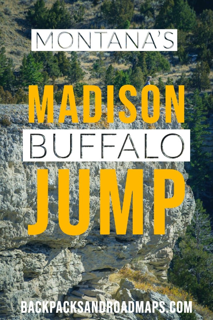 Madison Buffalo Jump State Park is one of Montana\'s little-known, but highly enjoyable places to visit. It\'s worth a stop when you\'re in Montana and offers some excellent hiking and views. #visitmontana #buffalojump #montanastatepark