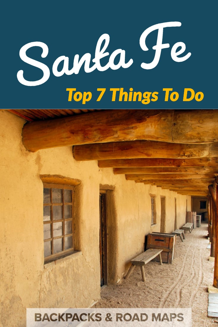 Santa Fe, New Mexico, is an amazingly diverse, artistic, and fun city to visit. From great places to eat, interesting historical buildings, and mind-blowing artistic experiences, Santa Fe has it all. Here are our Top 7 Things To Do in Santa Fe | #santafe | #newmexico | #thingstodoinsantafe | #visitnewmexico | #visitsantafe | #santafeguide