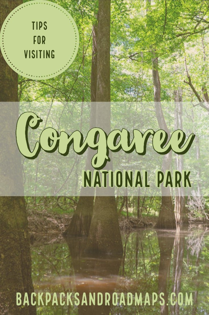 Everything you need to know about visiting Congaree National Park. Useful tips on how to make your trip to Congaree an enjoyable one. From packing the right bug spray, to the best footwear, we\'ve got you covered! #CongareeNationalPark #NationalParks #SouthCarolina #SouthCarolinaTravel #TravelTips