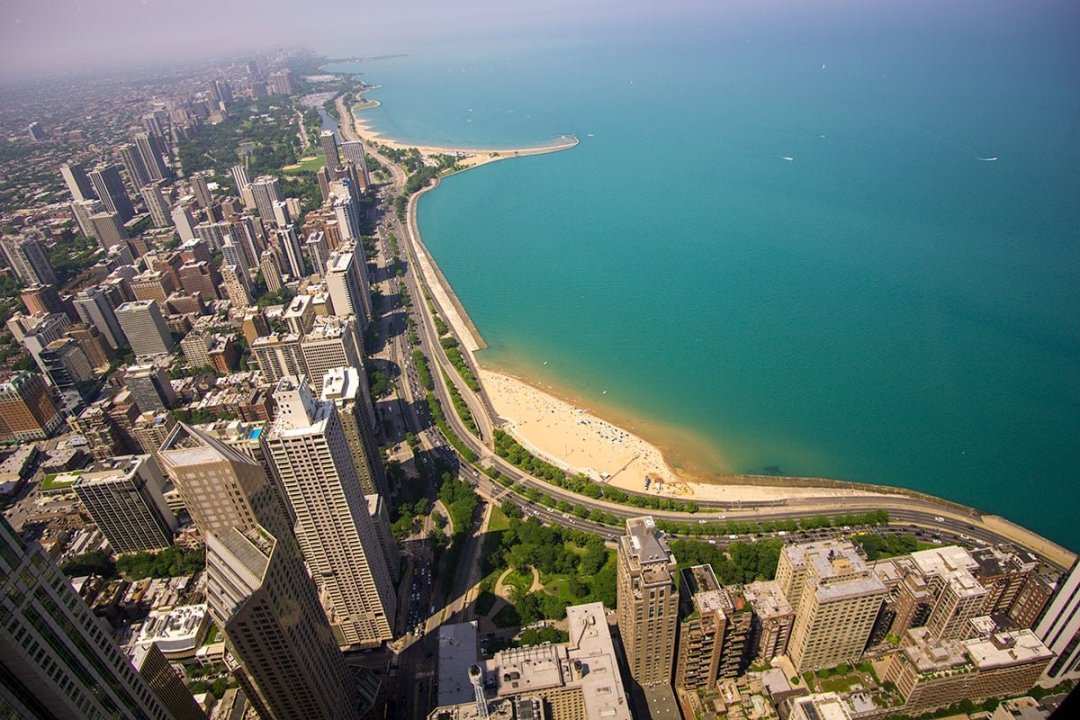 USA travel tips: a view of Chicago from the Chrysler Building