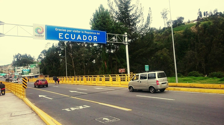 Ecuador Colombia Border Crossing Backpackways