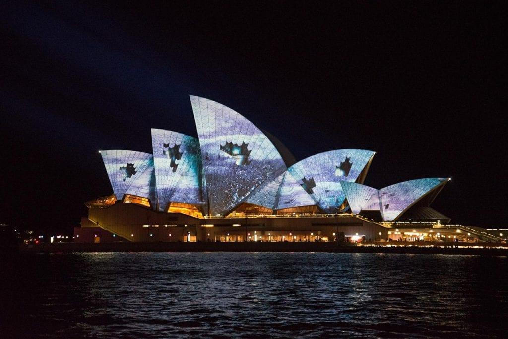 sydney opera house, VIVID, Australia