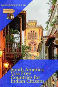 South America Visa Free Countries for Indian Citizens