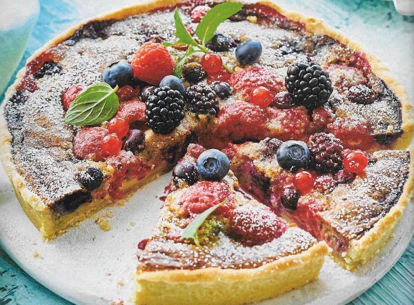 Kuchen mit tiefkuhlbeeren  Appetitlich FotoBlog fr Sie