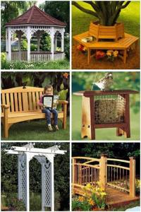 Backyard Building Plans from WOOD Store