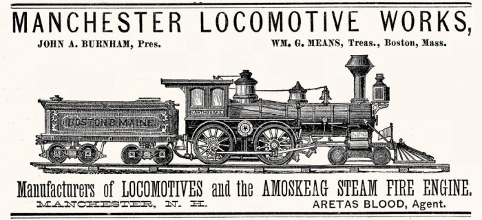 Manchester Locomotive Works ad 1882 1024x468 - Manchester Locomotive Unearthed in Central Florida