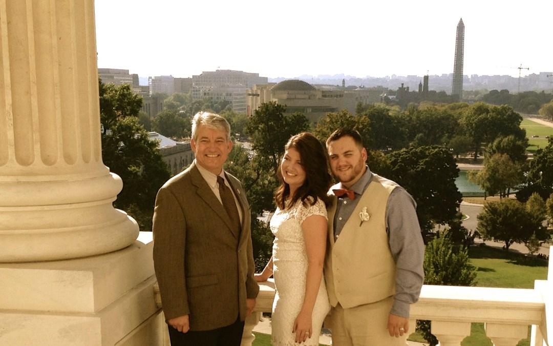 The Washington Wedding that Almost Wasn't