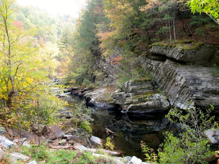 Bald River Gorge Rock Formations Tennessee