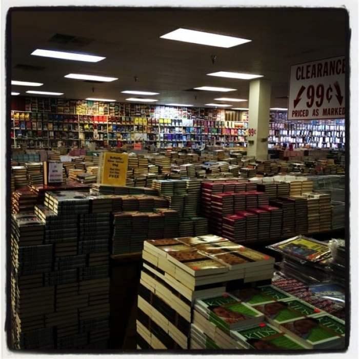 $3 Book Sale Warehouse Lake Park Georgia.JPG