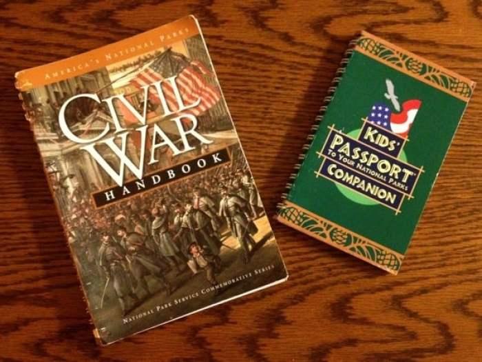 National Parks Passport Civil War Handbook and Kid's Companion