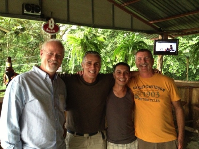 Howard Michael Alan DAngelo Jerry La Fortuna Social Club Costa Rica - Villa Hermosa: Your Home Away from Home in Costa Rica
