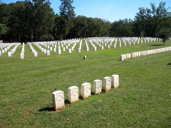 Andersonville NHS Cemetery Raiders Graves