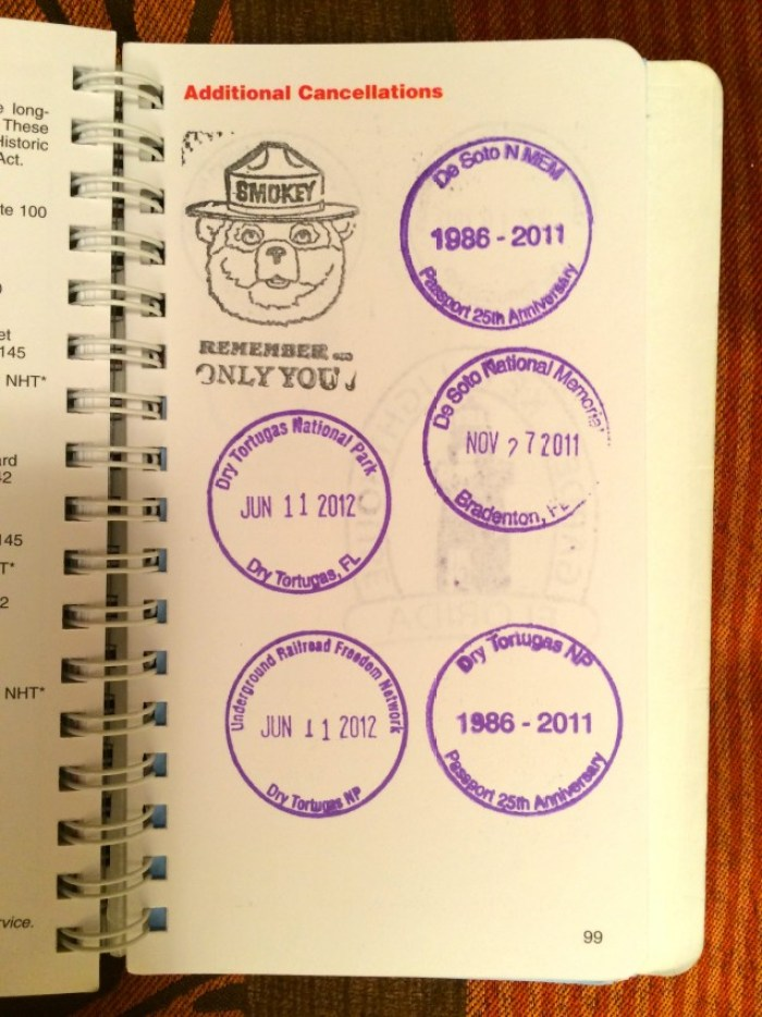 Fort Jefferson Dry Tortugas National Park Passport Stamp