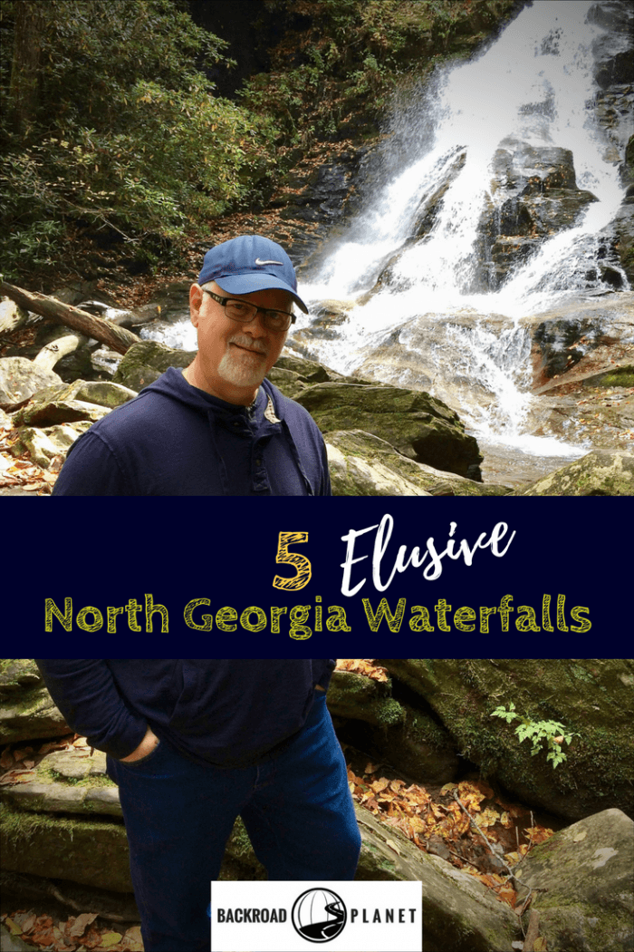 A day trip adventure reveals five incredibly beautiful, yet elusive North Georgia waterfalls worthy of your mountain getaway or weekend road trip itinerary. #travel #TBIN #Georgia #waterfalls #roadtrip
