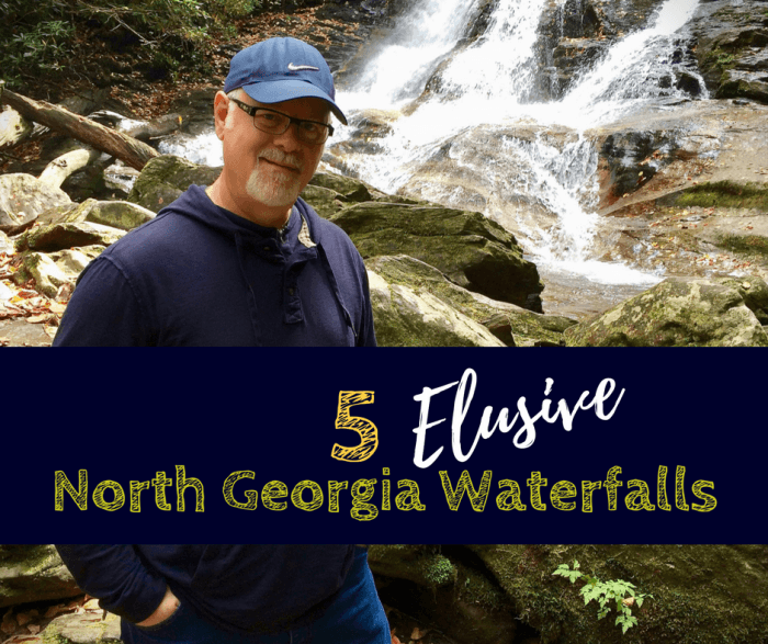 5 Elusive North Georgia Waterfalls