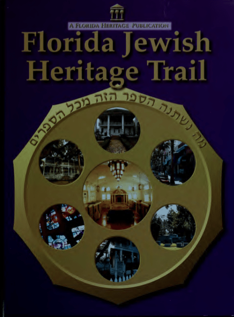 Jewish e1422821603443 - Florida Heritage Trail Guidebooks
