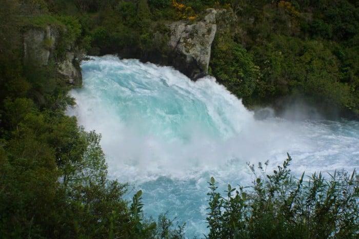 Huka Falls - Top 10 New Zealand Road Trip Destinations
