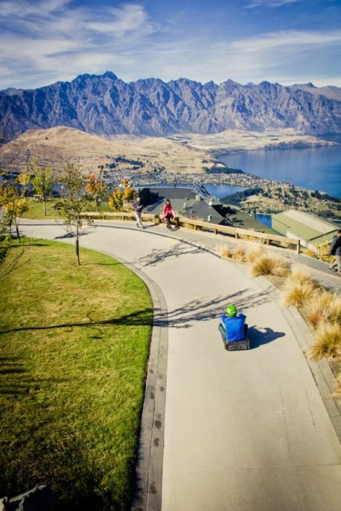 Queenstown Luge - Top 10 New Zealand Road Trip Destinations