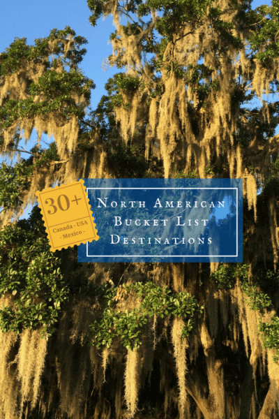 A round-up of 30+ North American bucket list destinations from Travel Media Showcase, perfect for any traveler planning visits to Canada, Mexico, or the USA.
