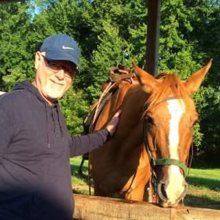 Howard and Horse Indiana