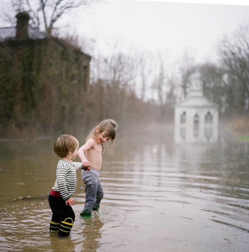Rodney Mississippi Flood Baptist Church Children