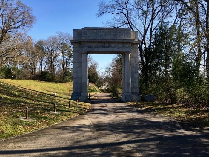 Vicksburg Memorial Arch