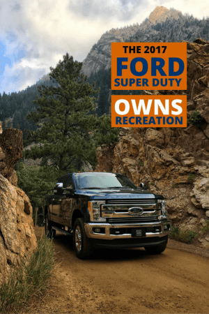 2 - The All-New 2017 Ford Super Duty Owns Recreation!