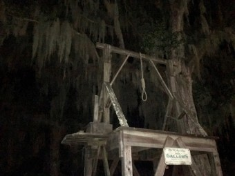 Old Jail St Augustine Florida Gallows