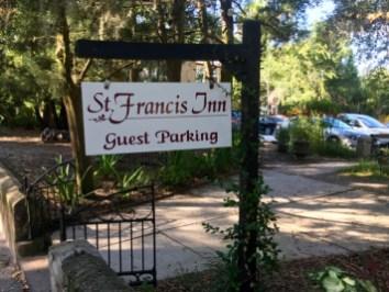 St. Francis Inn St Augustine Florida Sign