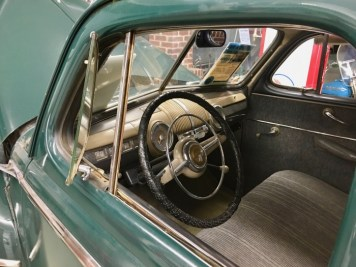 RV Museum Inside Classic Car