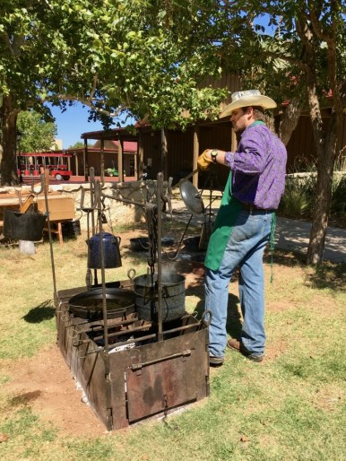Chuck Wagon Cookout National Ranching Heritage Center Lubbock Texas