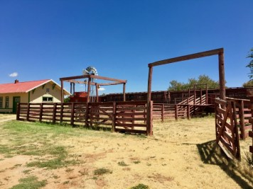Corral National Ranching Heritage Center Lubbock Texas