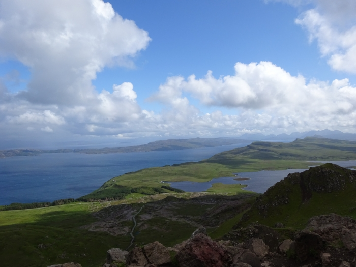 Vview from old man of storr - The Best Of Skye: A 3-Day Road Trip Itinerary